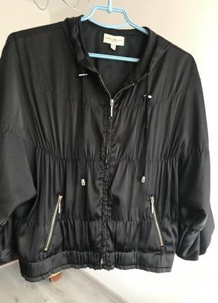 Шёлковая куртка ветровка karen millen