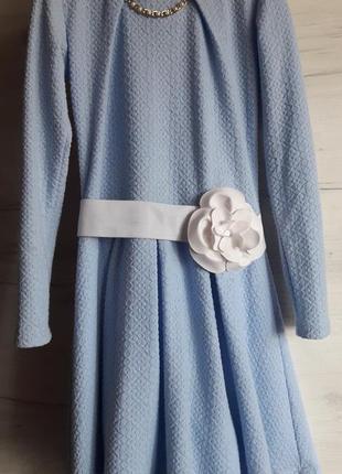 Платье нарядное для девочки р.146