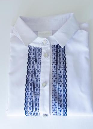 Рубашка блузка школьная для девочки
