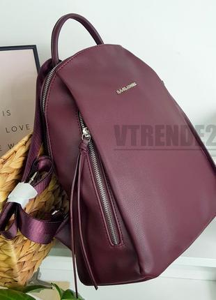 Бесплатная доставка #6218 bordo david jones большой вместительный рюкзак люкс качества!