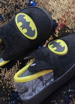 Тапочки размер 5 13 см бетмен batman