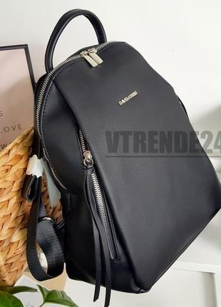 Бесплатная доставка #6218 black david jones большой вместительный рюкзак люкс качества