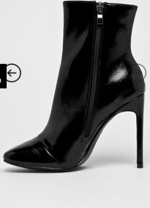 Трендовые ботинки zara