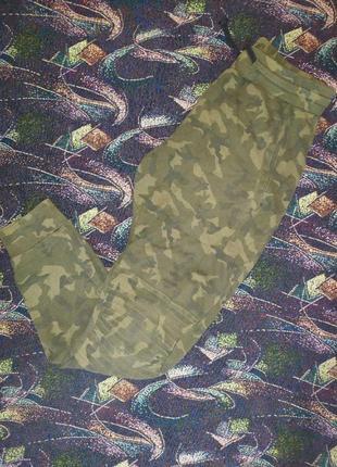Штани спортивні zara man camouflage edition