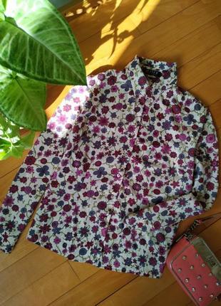 Красивейшая рубашка в цветочный принт jette