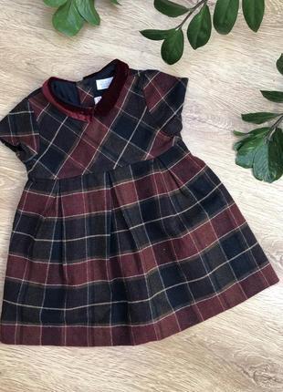 Стильное платье 18-24 м