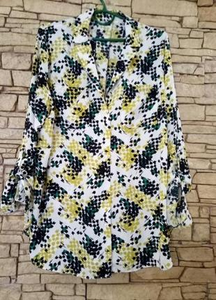 Скидка!длинная блуза,рубашка,большой размер