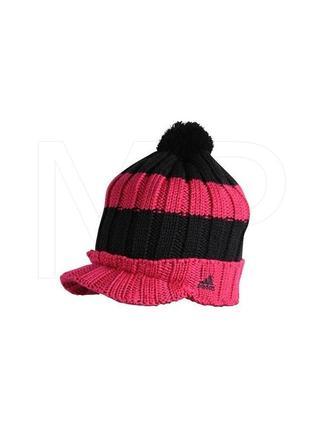 Adidas вязаная шапка с козырьком