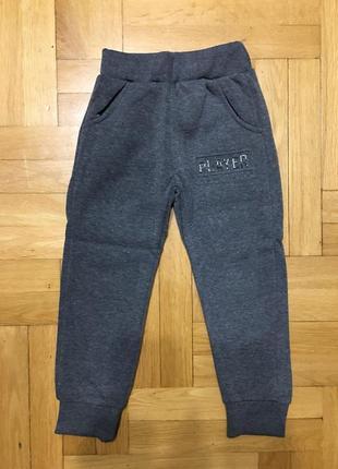 Спортивные брюки с начесом для мальчиков active sport