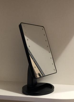 Косметическое зеркало с подсветкой led
