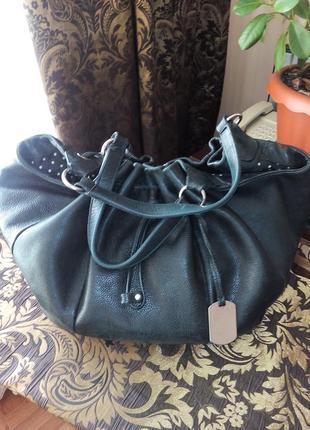 Кожаная сумка furla