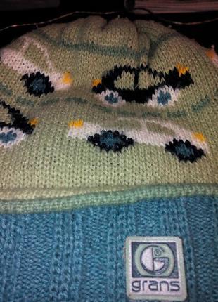 """Комплект шапочка и шарфик для мальчика """"grans"""""""