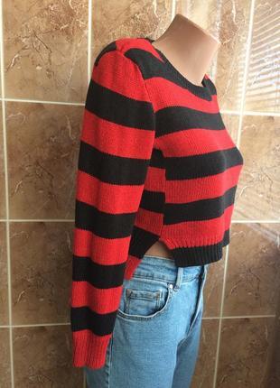Укорочений светрик h&m укороченный джемпер свитер