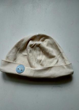 Трикотажная шапка на ребенка 12-18 мес