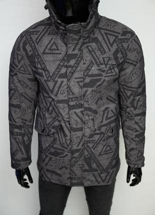 Куртка мужская евро-зима yohji yamamoto skch soft shell 1931 серая