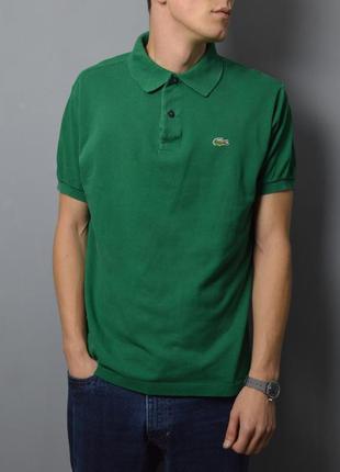 Поло lacoste vintage polo shirt