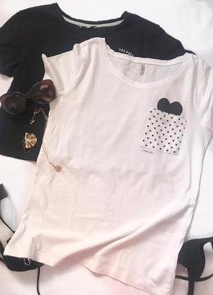 Клевая футболка с кармашком р.s