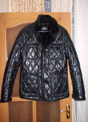 В наличии модная утипленная дубленка куртка тренч,фирма best
