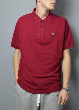Крутое поло lacoste polo shirt