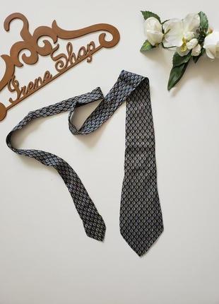 Фирменный галстук christian dior