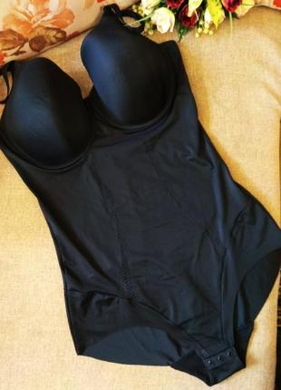 Шикарное корректирующее белье, бесшовное утягивающее боди 85d