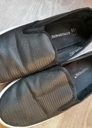 Кожаные чешки туфли балетки тапочки р. 38