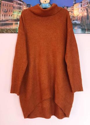 Теплая кофта , свитер платье