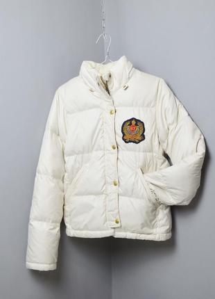 Женский пуховик ralph lauren polo jeans company down wmns jacket