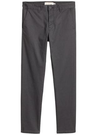 Новые брюки чиносы h&m
