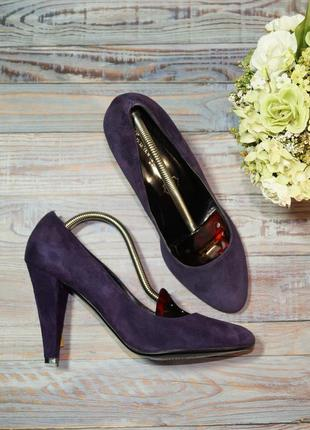 🌿бесплатная доставка🌿38🌿emozioni di donna. италия. замша. фирменные туфли лодочки