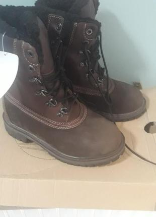 Зимние ботинки timberland, 30 размер