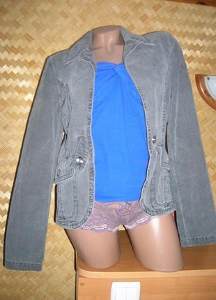 Джинсовый пиджак. оригинал. италия  intrend