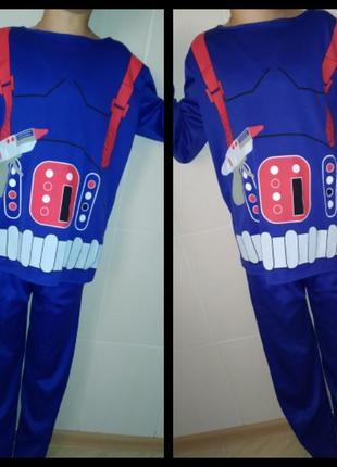 Карнавальный костюм робот для близнецов на 8-10 лет