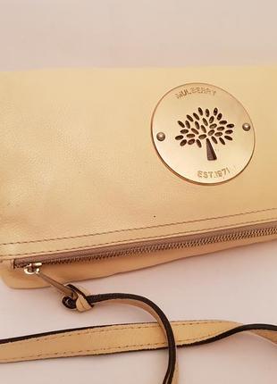 Mulberry! номерная! красивая стильная кожаная дизайнерская сумка crossbody