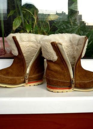 """Осенние кожаные ботиночки """"clarks"""". англия. 22.5 р."""