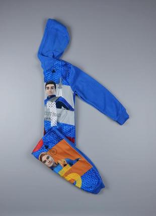 Флисовый слип, пижама george на 7-8 лет, рост 122-128 см