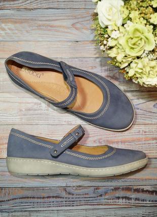 🌿бесплатная доставка🌿39🌿lasocki. кожа, нубук. фирменные комфортные туфли на низком ходу