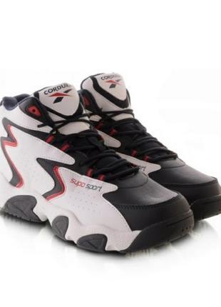 Стильные белые зимние высокие мужские кроссовки спортивные ботинки хит кросы