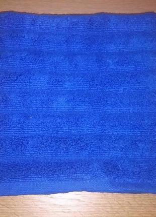 Полотенце махровое ''ribs'' синее тм ярослав размер 50*90