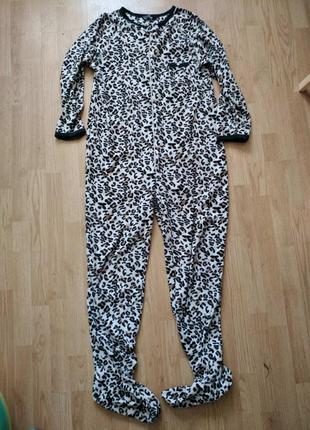 Пижама слип кигуруми человечек