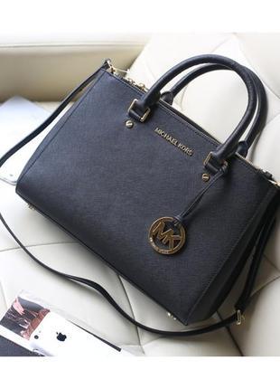 Чёрная сумка сумка с ручками