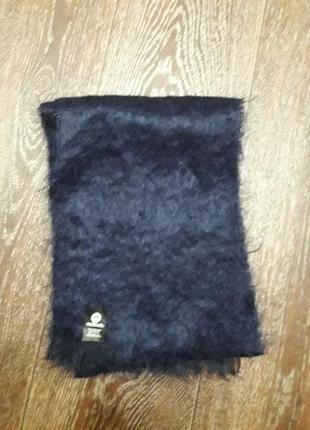 Натуральный шарф от британского бренда моnair качество  люкс.