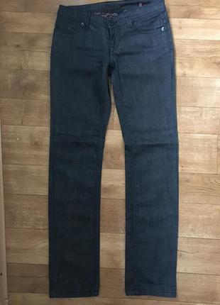 Джинсы чёрные. джинсы прямые. джинсы с заниженной талией. джинсы ovs