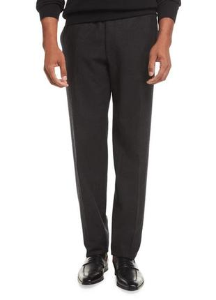 Шерстяные брюки brioni wool trousers