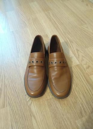 Акция до 25.10! кожаные туфли кэжуал