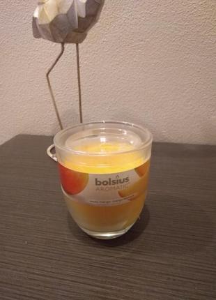 """Ароматическая свеча """"манго"""" в стеклянном стакане!!!"""