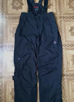 Зимние треккинговые лыжные штаны fjall raven(оригинал)р.s