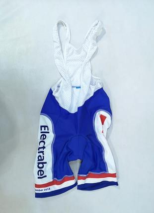 Вело шорты фирменные electrabel, женские