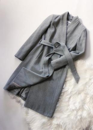 Шерстяное пальто от reserved