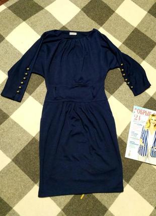 Красивое платье, теплое платье, трикотажное платье